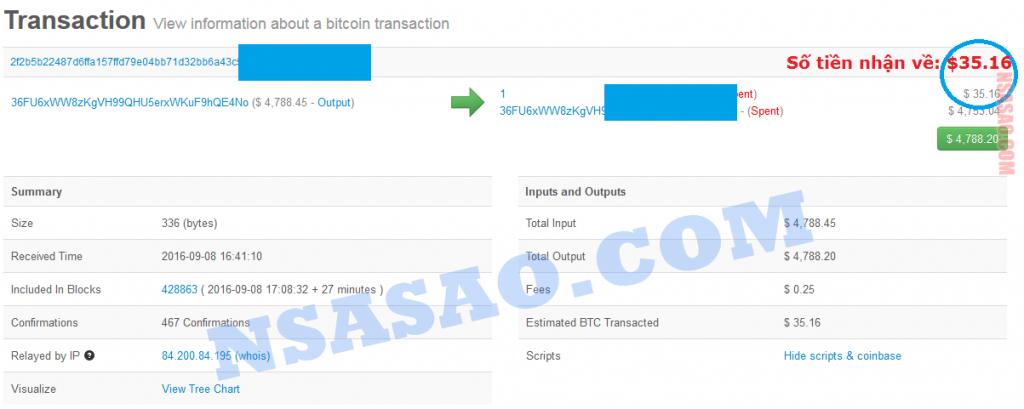 Bằng chứng nhận $$$ từ EthTrade của NSASAO.COM