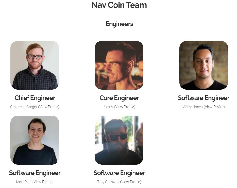 Đội ngũ phát triển của NAV