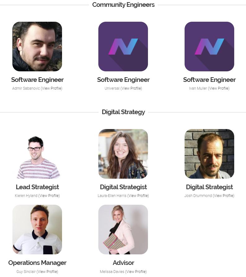 Một số cộng đồng nhà phát triển của NAV